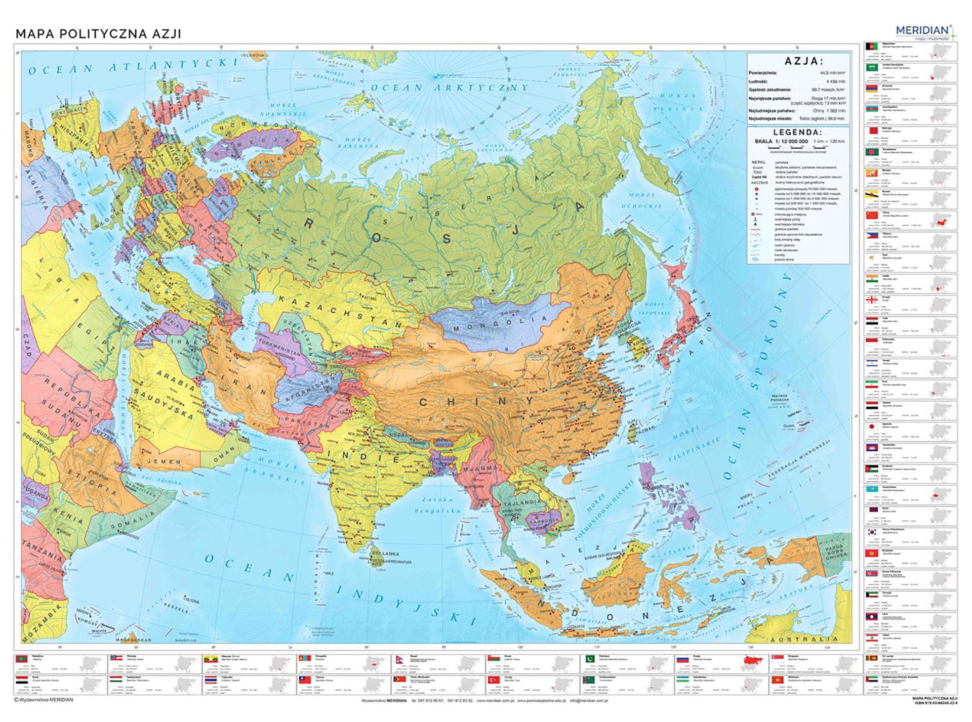 MR GE 71 Azja polityczna