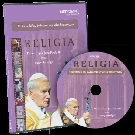 CD MR MM 008 Multimedialny cwiczeniowy atlas historyczny Religia