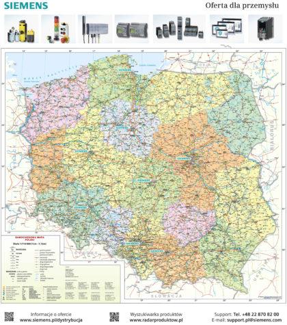Mapa samochodowa Siemens